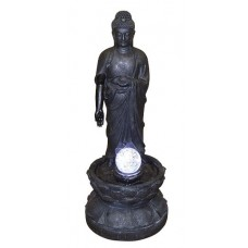 Standing Buddha Crystal Ball