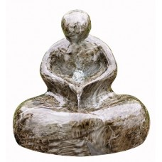 Marble Effect Sitting Man