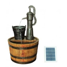 Solar Barrel with Pump