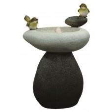 Solar Birds on Stone