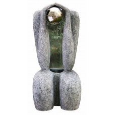 Granite Sitting Man 1S/S Sphere