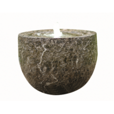Carved Marble Effect Bowl