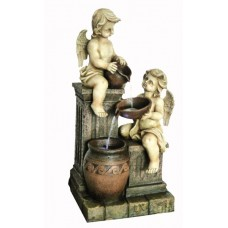 2 Angels with Spilling Urns