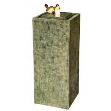 2 Birds on Stone Column