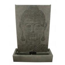 Large Grey Buddha Wall